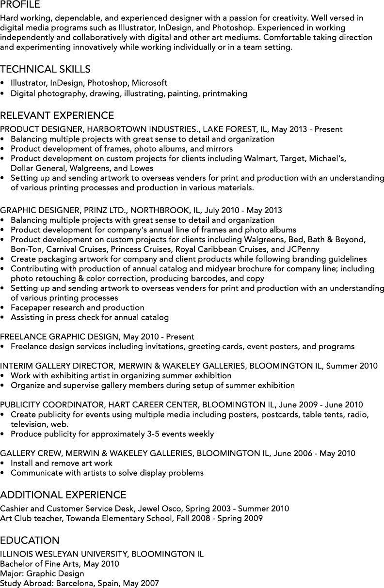 resume ech design art resume portfolio